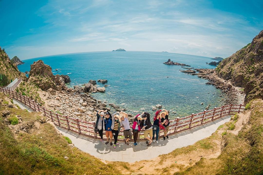 Eo Gió nơi ngắm bình minh đẹp nhất Việt Nam